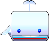 Boxy the Whale (cute! square!) Keywords: Boxy  Whale boxy whale cute square