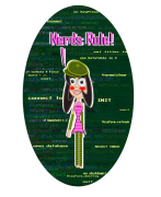 Nerds Rule! She-geek with VFP code background. nerd, nerds, rule, nerdette, nerd girl, girl, nerd gurl, vfp, visual, foxpro, code, programming, programmer, programmer girl, programmer chick, nerd chick, source, coding