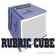 Rubric Cube - Interpersonal etiquette and social mores
