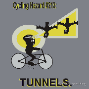 cycling hazard tunnels underpasses
